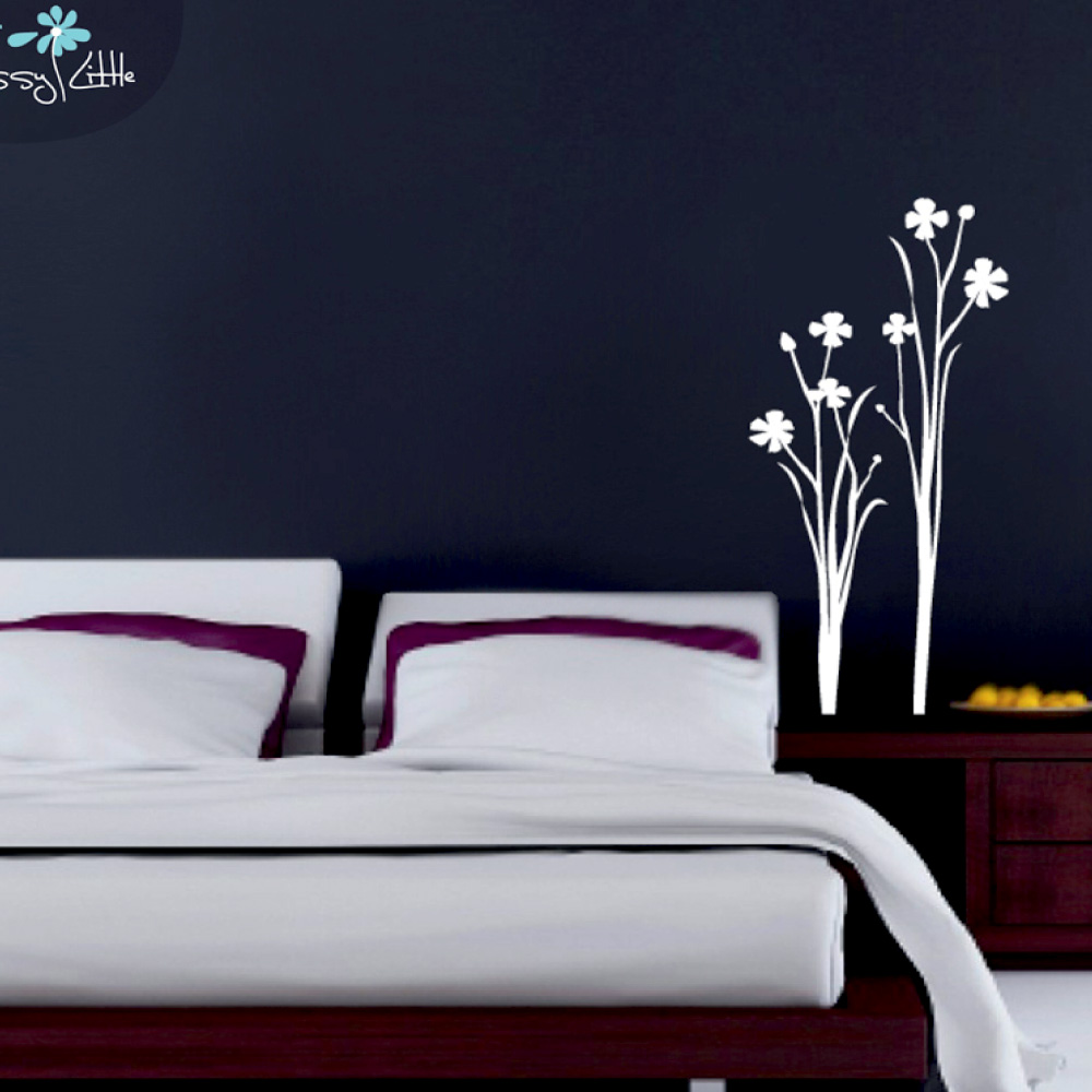 Vinil flors decoratives